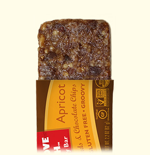 ... Crackers Apricot with Almonds & Chocolate Chips Chewy Energy Bar