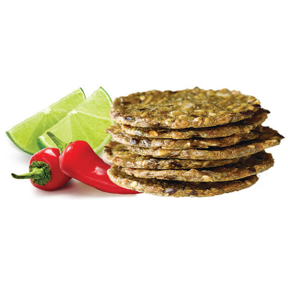 Super Seed Chili Lime Crackers