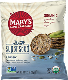 Super Seed Crackers (Snack Size)