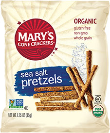 Sea Salt Pretzels (Snack Size)