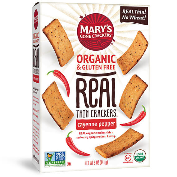 Click to go to the REAL Thin Crackers Cayenne Pepper product page