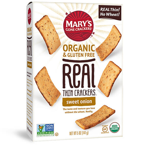 Click to go to the REAL Thin Crackers Sweet Onion product page