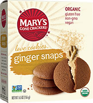 Ginger Snaps Cookies - Buy Now