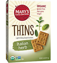 Italian Herbs THINS - Buy Now